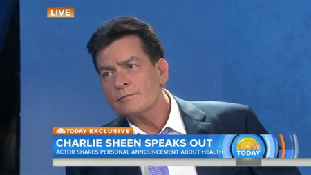 Left or right charlie sheen hiv today h 2015
